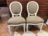 Pereche scaune stil Louis  XVI