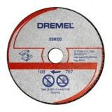 DREMEL DSM510 Set discuri taiere metal 20 mm 2615S510JA
