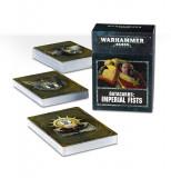 Carte Regulament Warhammer 40k, Games Workshop, Datacards Imperial Fists