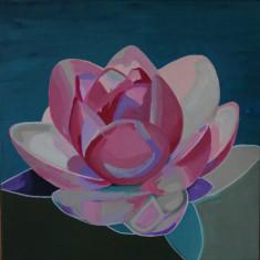 Tablou în acrilic, Flori, Altul
