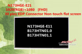 Display laptop 17.3 Inch Lenovo G80 30pin 1600x900 HD+