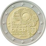 Slovacia moneda comemorativa 2 euro 2020 - Aderarea la OCDE - UNC, Europa