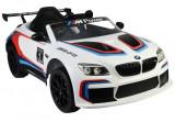 Masinuta electrica BMW M6 GT3, alb