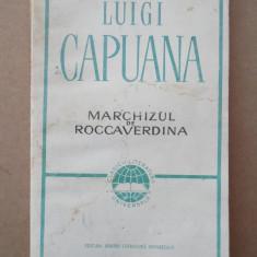 MARCHIZUL DE ROCCAVERDINA – LUIGI CAPUANA