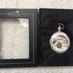 Ceas de buzunar the heritage collection in cutie nefolosit aproape nou