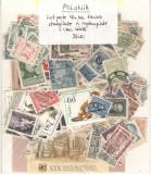 Polonia.Lot peste 160 buc. timbre+1 buc. colita stampilate si nestamp.  DL.36