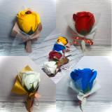 Martisoare trandafiri de sapun