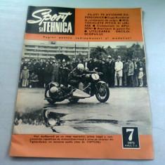 REVISTA SPORT SI TEHNICA NR.7/1973
