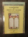 LA CONQUETE DES DROITS DE L'HOMME