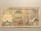 Turcia 1000 Lire 1970
