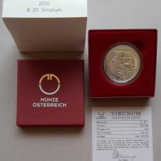 Moneda tematica de argint - 20 Euro 2010, Austria - Proof