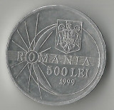 Romania, 500 lei, eclipsa, 1999