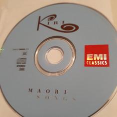 KIRI TE KANAWA & MAORI MUSIC GROUP - MAORI SONGS  -   CD