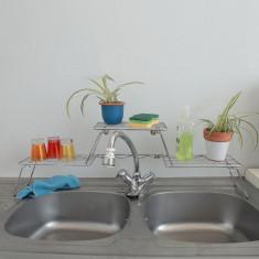 Etajera cu 2 niveluri pentru lavoar si chiuveta