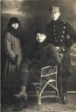 Fotografie ofiter roman cu sabie 1919 Husi foto Sami Konn