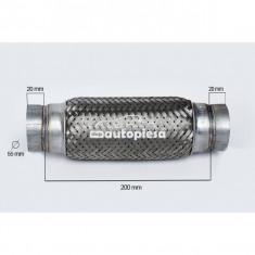 Racord flexibil toba esapament 55 x 200 mm FLANK FL 60101