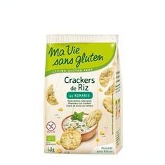 Crackers Bio din Orez cu Rozmarin Fara Gluten Ma Vie Sans Gluten 40gr Cod: 3380380077968