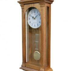 Ceas de perete cu pendul Adler 7128-0 cu melodie Westminster 68x26 cm