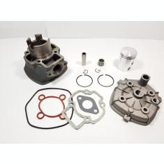 Kit Cilindru Set Motor + Chiuloasa Scuter Piaggio NTT 49cc 50cc 5 colturi