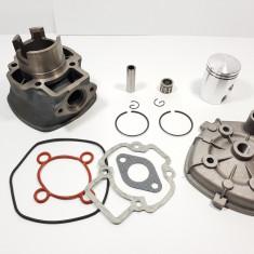 Kit Cilindru Set Motor + Chiuloasa Scuter Derbi Atlantis 49cc 50cc 5 colturi