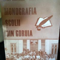 Monografia scolii din Goruia, Caraș Severin