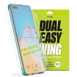 Cumpara ieftin Folie Huawei P40 Pro Ringke Dual Easy Full Cover 2 Pack Clear