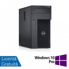 Workstation Dell Precision T1700, Intel Quad Core i5-4690 3.50GHz - 3.90GHz, 32GB DDR3, 512GB SSD + 2TB HDD, nVidia Quadro K2200/4GB, DVD-RW + Windows