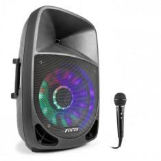Fenton FT1200A, boxă activă, 250 W, bluetooth + microfon, negru