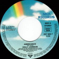 "Holly Johnson - Americanos (1989, MCA) Disc vinil single 7"""
