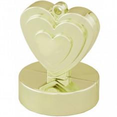 Greutate baloane cu heliu inima ivory 110 gr