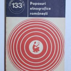 POPASURI ETNOGRAFICE ROMANESTI de ION GHINOIU , 1981