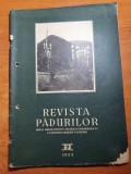 revista padurilor septembrie 1955-metode de impadurire,ocolul silvic tismana