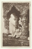 Cp Vederi din Romania : Port National Roman - anii 1930 (Col. Radu Al Bellio), Necirculata, Fotografie