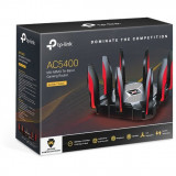 Router Gaming Wireless Archer C5400X, Gigabit, Tri-Band, 5400 Mbps, 8 Antene externe