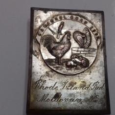 Placheta    Carierul  Arad  1933