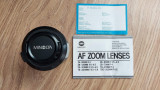 OBIECTIV MINOLTA AF ZOOM 100-200 mm 1; 4,5 ( 22 ) Φ 49 mm, Tele, Minolta - Md