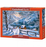 Puzzle Snowy Morning, 1500 piese, castorland