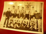 Fotografie - Echipa de lupte anii '70 , dim.= 18x13cm Romania