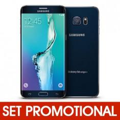Set SAMSUNG Galaxy S6 Edge Plus - Folie Siliconica + Husa Silicon (Transparenta) foto