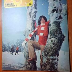 Romania pitoreasca februarie 1980-art. si foto statiunea govora,albota mare