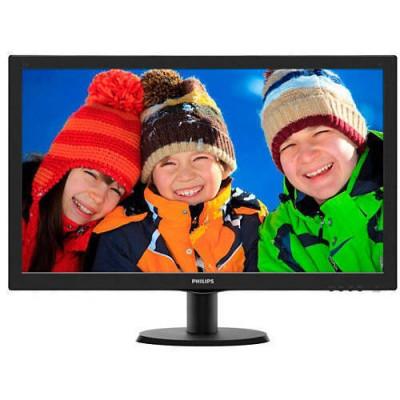 Monitor Philips 273V5LHAB 27 inch 5ms Black foto