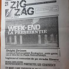 zig zag 1-6 august 1990-art.nostalgia dupa ceausescu,interviu nicu ceausescu