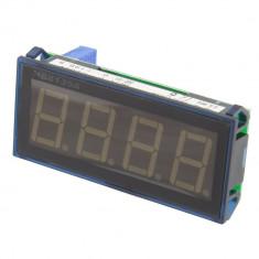 Voltmetru digital, cu LED, 4 digiti, 200V DC - 111400
