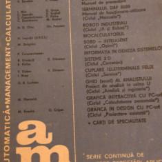 LXXC1 Automatica management calculatoare nr 54- Editura tehnica