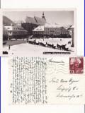 Brasov, Kronstadt  -  Vedere iarna, sanii, Circulata, Printata