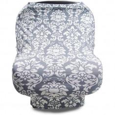 Husa multifunctionala 4 in 1- Esarfa alaptare, husa pentru cosulet auto, cos cumparaturi si scaun de masa Bambinice BN002 B3103255