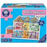 Puzzle de podea Casa (25 piese) DOLLS HOUSE JIGSAW, orchard toys