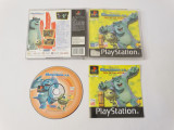 Joc Sony Playstation 1 PS1 PS One - Disney Monstruos S.A., Single player, Actiune, Toate varstele