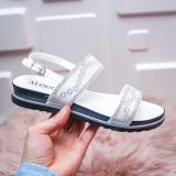 Sandale Tanusri albe -rl