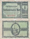 1923 ( 3 VIII ) , 500,000 mark ( Keller 3637d.2 ) - Mülheim ( Germania )